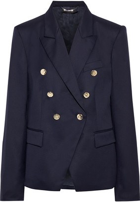 Stella McCartney Robin Double-breasted Wool-twill Blazer