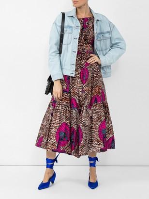 Stella McCartney Strapless Design Dress Multicolor
