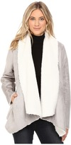 Kenneth Cole New York Fur Suede Jacket
