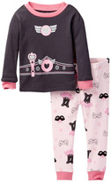 Petit Lem Long Sleeve Pajama Set (Little Girls)
