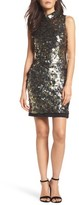 French Connection Women's Moon Rock Sparkle Sheath Dress