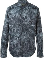 Valentino butterfly print shirt