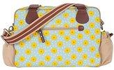 Pink Lining Not So Plain Jane Bag, Blue/Yellow