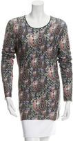 Jean Paul Gaultier Printed Long Sleeve Top