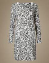 Marks and Spencer Pure Cotton Animal Print Nightdress