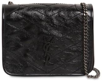 Saint Laurent Niki Vintage Leather Chain Wallet Bag