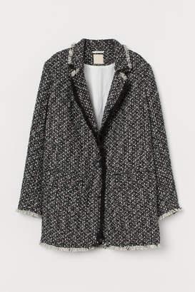 H&M Textured-weave jacket