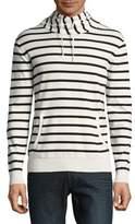 Black & Brown Black Brown Stripe Turtleneck Sweater