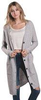 Harlow Womens Ellie Long Cardigan Sweater