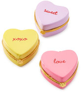 Twos Company Celebrate Shop 3-Pc. Heart Candy Trinket Box Set