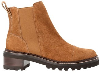 See by Chloe Mallory Flat suede boots