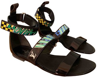 Louis Vuitton Multicolour Patent leather Sandals