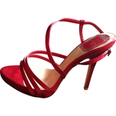 Christian Dior Red Sandals