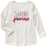 Gymboree White Stripe 'Snow Princess' Tunic - Girls