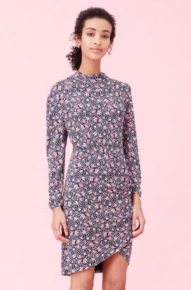 Rebecca Taylor Twilight Bloom Jersey Dress