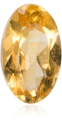 Loquet November citrine birthstone charm