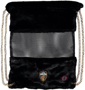 Cleveland Cavaliers Mesh Gold Chain Drawstring Bag
