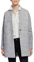 Joules Woolsthorpe Cocoon Jacket, Grey