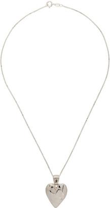 MONDO MONDO Silver Heart Necklace