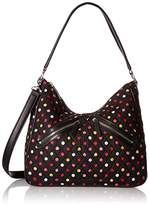 Vera Bradley Vivian Hobo Bag Cotton 2