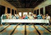 Leonardo Poster Revolution Last Supper Art Print Poster Jesus Christ da Vinci Poster Print, 19x13