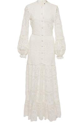 Alexis Eudora Cotton Lace Maxi Dress
