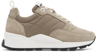 Ami Alexandre Mattiussi Taupe Basket Spring 9 Sneakers