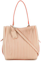 DKNY medium pleated tote - women - Leather - One Size