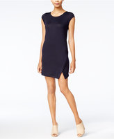 Kensie Split-Front Shift Dress