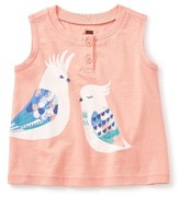 Tea Collection Toddler Girl's Corella Henley Tank