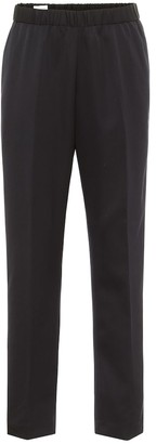 Dries Van Noten High-rise slim-leg wool pants