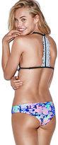 PINK Ruched Mini Bikini Bottom