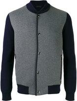 Z Zegna snap-up bomber jacket - men - Cotton/Polyamide/Polyester - L
