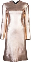 Cédric Charlier Metallic dress