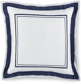 """Hotel Collection Embroidered Frame 16"""" Square Decorative Pillow"""