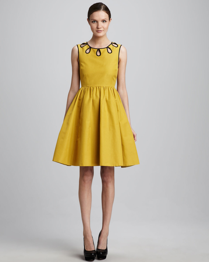Kate Spade Rainey Embroidered Dress