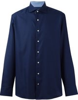 Hackett jacquard button down shirt