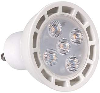 ECO Lights GU10 Dimmable 3W LED SMD 35W Equivalent COOL 6000K, Pack of 4