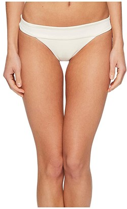 L-Space Ridin' High Ribbed Veronica Bottom (Cream) Women's Swimwear
