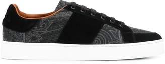 Etro paisley print low-top sneakers