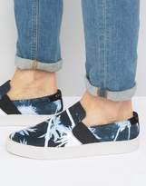 Religion Jamie Print Slip On Sneakers