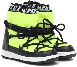 Stella McCartney Kids Lace-up snow boots