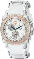 "Brillier Men's 01.4.3.4.13.2 ""Chronograph Method Air"" Diamond-Accented Stainless Steel Watch"