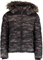 Schott Nyc Winter Jacket Camo/black