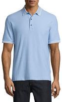Robert Graham Axelrod Stripe-Detail Polo Shirt