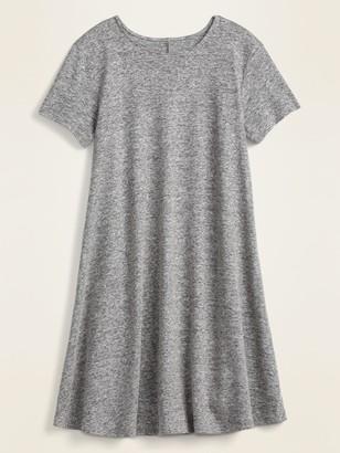 Old Navy Linen-Blend Jersey Swing Dress for Women