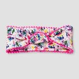 Cat & Jack Girls' Tribal Print Top Knot Headwrap Pink