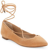 424 Fifth Charisma Suede Flats