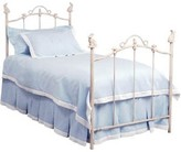 The Well Appointed House Bunny Finial Wrought Iron Bed