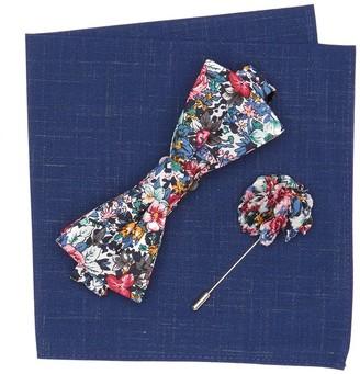 Original Penguin Tibbitt Floral Bow Tie 3-Piece Set